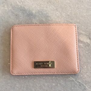 Henri Bendel pink card case